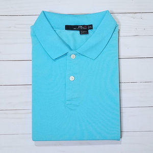 RLX Ralph Lauren Light Blue Short-Sleeve Polo XL